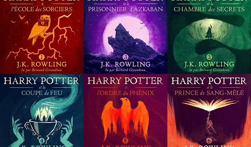 livre harry potter